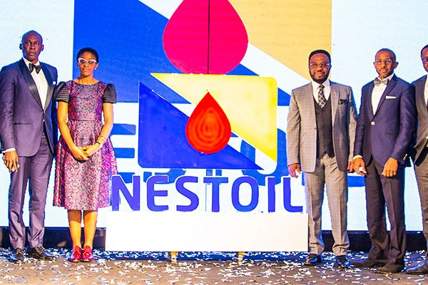 Dr Ernest Azudialu-Obiejesi at the Rebranding Dinner for Nestoil