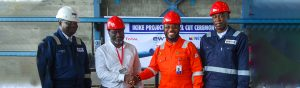 """The development of Ikike Oil Field in the oil mining lease (OML) 99 achieved a milestone on Thursday as Energy Works Technology (EWT) executed the first steel cut for the delivery of four major pressure vessels for the asset. The first steel cut ceremony held in Port Harcourt, Rivers State, marked the commencement of engineering, procurement and fabrication of an Open Drain Vessel, Closed Drain Vessel, Pig Launcher and a Pig Receiver. The project was contracted to EWT by Total E&P Nigeria Limited, and it is a major feat in the execution of the OML 99 asset. The project is expected to add 32,000 barrels to Nigeria's daily crude production. The Ikike sits on the northern part of OML 99, which is estimated to hold 70 million barrels of crude. Speaking at the steel cutting ceremony, Group Managing Director, Nestoil, Dr. Ernest Azudialu-Obiejesi, said the first steel cut marked the beginning of a highly-technical process of procuring the pressure vessels that will service the project and demonstrate the mutually beneficial relationship between EWT and Total. Dr. Azudialu-Obiejesi said Total's decision to avail EWT another opportunity to demonstrate its sheer capacity as a leading industrial fabrication company is a vote of confidence on the local capacity of indigenous companies in the sector to deliver on complex projects at all times. """"This project will surely deepen Nigerian local content implementation by creating huge job opportunities for thousands of people"""", said Dr Azudialu. General Manager, Ikike Project, for Total E & P, Modestus Nwosu, appreciated the technical competence and safety standards of the Nestoil Group and its member companies. He noted that EWT won the contract strictly on its merit. According to him, """"EWT shares the same values with Total. We are safety conscious and work with companies that have safety standards; we don't do business with companies that have poor safety records."""" On his part, the Managing Director, EWT, Dr. Tunji Olanipekun, pro"""