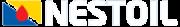 Nestoil logo - white