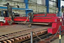 Facilities and Equipment - Energy Works Technology (EWT). Plate Cutting machine capability of up to 300mm